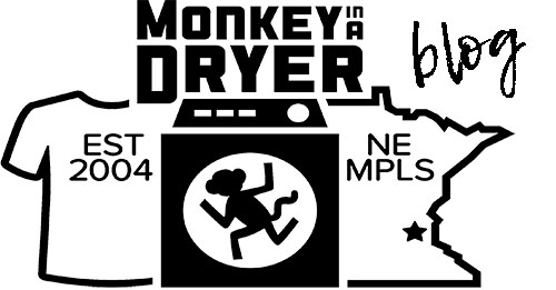 Monkey In A Dryer Custom T Shirt Blog